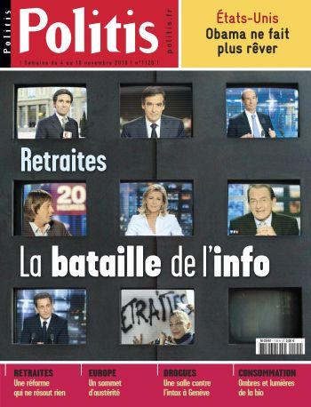 Couverture de l'Hebdo Politis N°1125