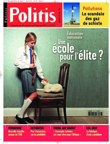 Couverture de l'Hebdo Politis N°1137