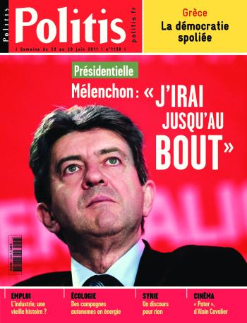 Couverture de l'Hebdo Politis N°1158
