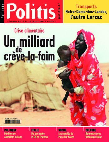 Couverture de l'Hebdo Politis N°1161