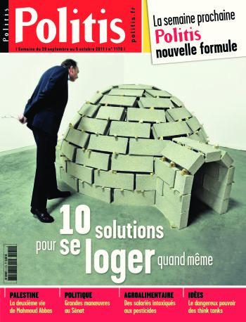 Couverture de l'Hebdo Politis N°1170