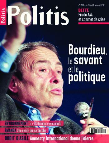 Couverture de l'Hebdo Politis N°1186