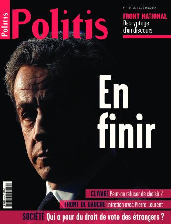 Couverture de l'Hebdo Politis N°1201