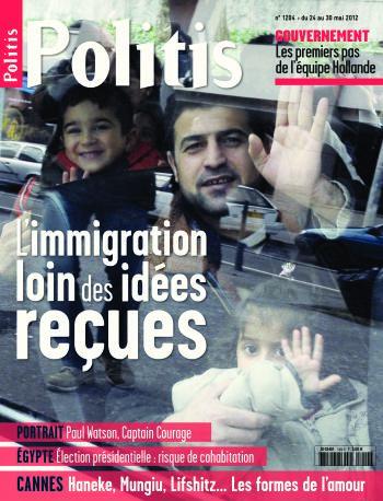 Couverture de l'Hebdo Politis N°1204