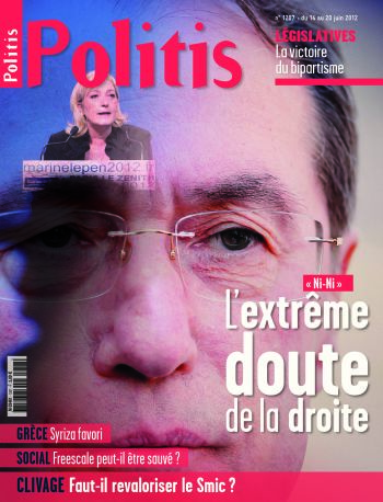 Couverture de l'Hebdo Politis N°1207