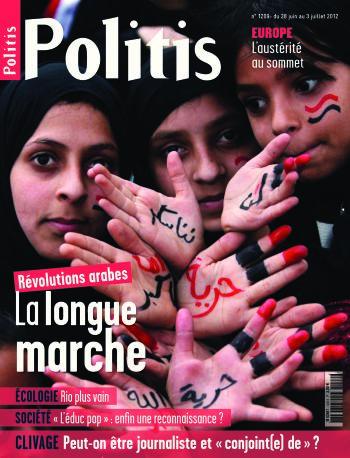 Couverture de l'Hebdo Politis N°1209