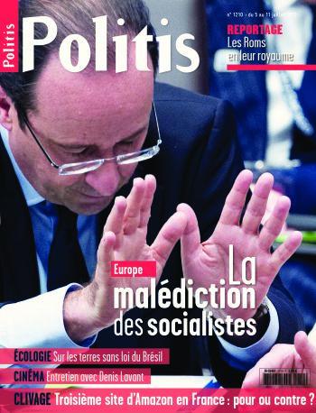 Couverture de l'Hebdo Politis N°1210