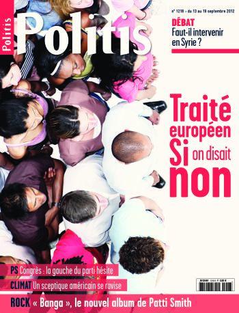 Couverture de l'Hebdo Politis N°1218