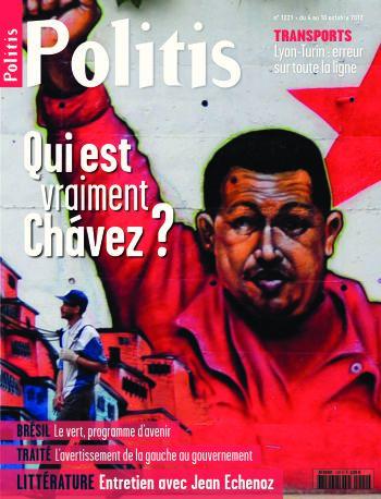 Couverture de l'Hebdo Politis N°1221