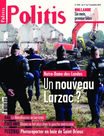 Couverture de l'Hebdo Politis N°1225