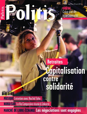Couverture de l'Hebdo Politis N°1258