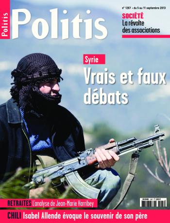 Couverture de l'Hebdo Politis N°1267