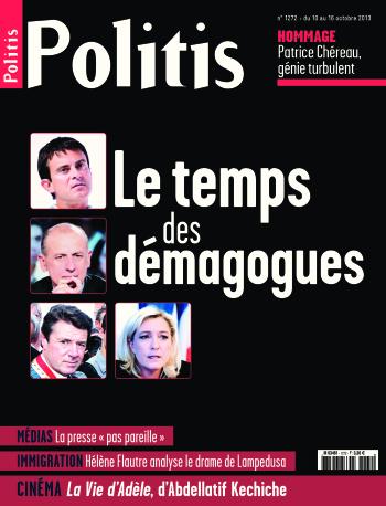 Couverture de l'Hebdo Politis N°1272