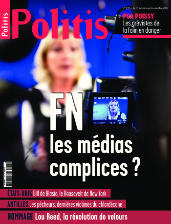 Couverture de l'Hebdo Politis N°1275