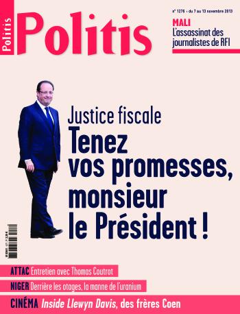 Couverture de l'Hebdo Politis N°1276