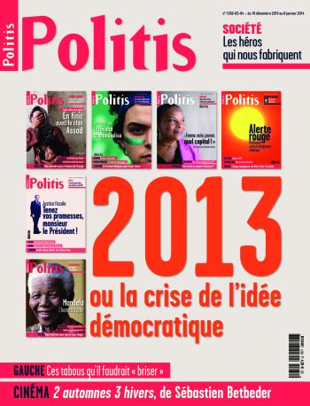 Couverture de l'Hebdo Politis N°1282-83-84