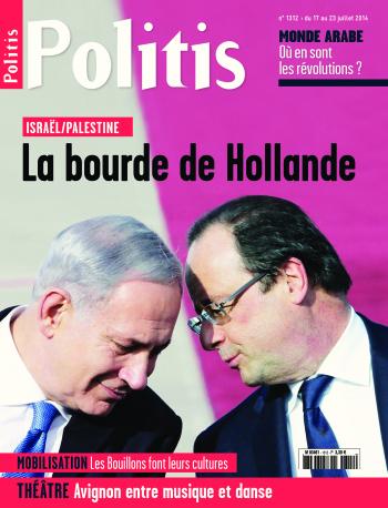 Couverture de l'Hebdo Politis N°1312