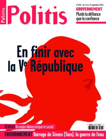 Couverture de l'Hebdo Politis N°1318