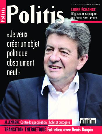 Couverture de l'Hebdo Politis N°1320