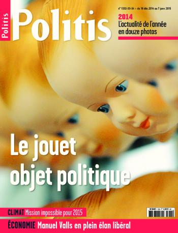 Couverture de l'Hebdo Politis N°1332