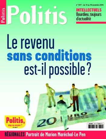 Couverture de l'Hebdo Politis N°1377