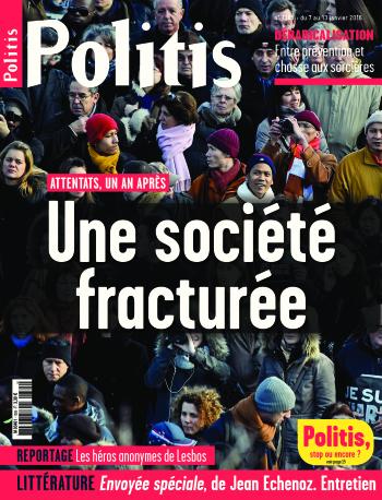 Couverture de l'Hebdo Politis N°1385
