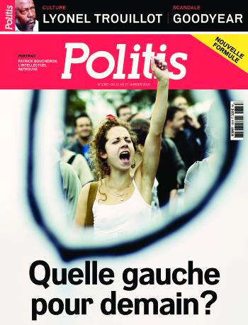 Couverture de l'Hebdo Politis N°1387