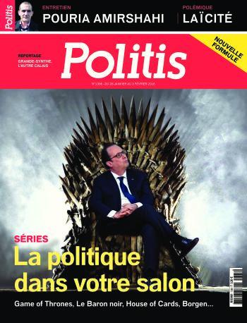 Couverture de l'Hebdo Politis N°1388
