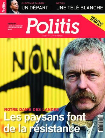 Couverture de l'Hebdo Politis N°1389