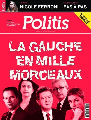 Couverture de l'Hebdo Politis N°1391