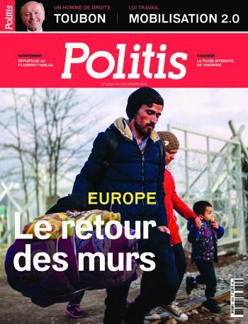 Couverture de l'Hebdo Politis N°1393