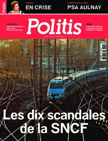 Couverture de l'Hebdo Politis N°1396
