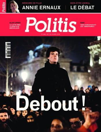 Couverture de l'Hebdo Politis N°1398