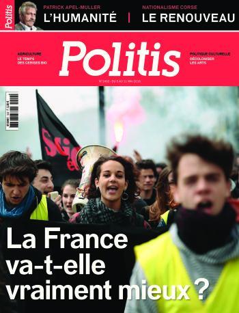 Couverture de l'Hebdo Politis N°1402