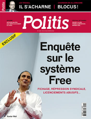 Couverture de l'Hebdo Politis N°1404
