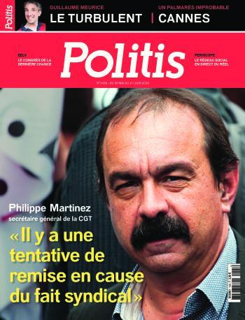 Couverture de l'Hebdo Politis N°1405