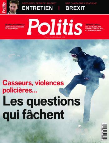 Couverture de l'Hebdo Politis N°1409