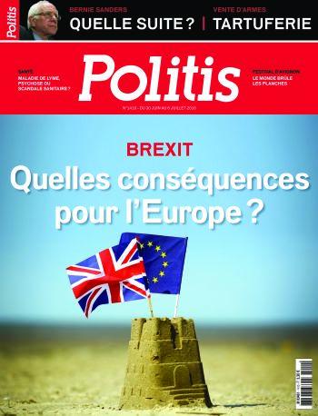 Couverture de l'Hebdo Politis N°1410