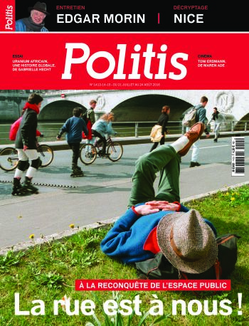 Couverture de l'Hebdo Politis N°1413-1414-1415
