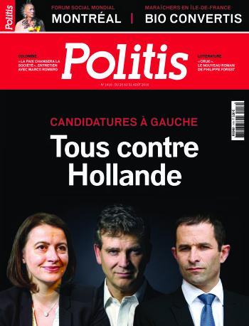 Couverture de l'Hebdo Politis N°1416