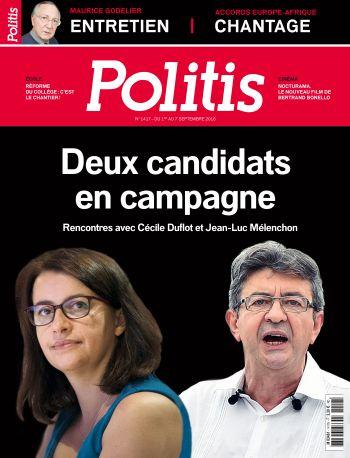 Couverture de l'Hebdo Politis N°1417