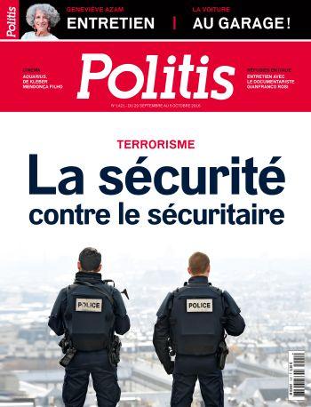 Couverture de l'Hebdo Politis N°1421