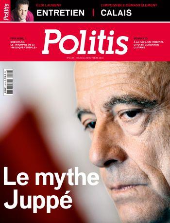 Couverture de l'Hebdo Politis N°1424