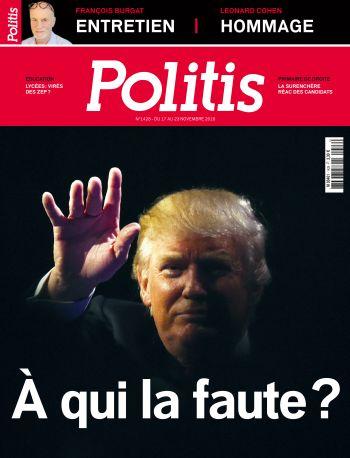 Couverture de l'Hebdo Politis N°1428
