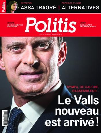 Couverture de l'Hebdo Politis N°1431