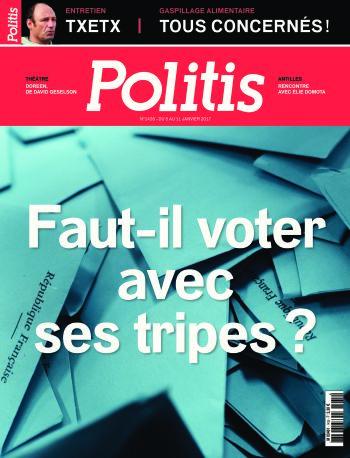 Couverture de l'Hebdo Politis N°1435