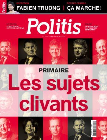 Couverture de l'Hebdo Politis N°1437