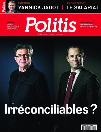 Couverture de l'Hebdo Politis N°1442