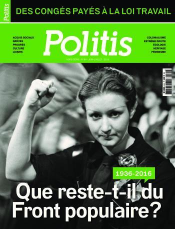 Couverture du Hors série Politis N°64