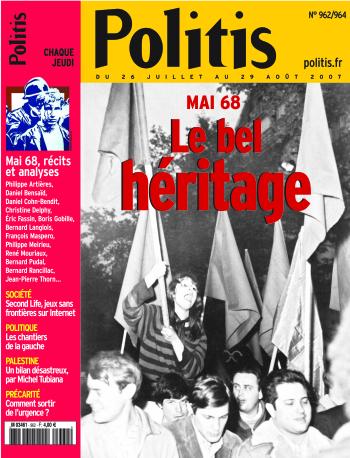 Couverture de l'Hebdo Politis N°962-964